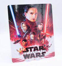 STAR WARS 8 LAST JEDI - Glossy  Bluray Steelbook Magnet Cover (NOT LENTICULAR)
