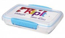 Sistema Klip It 380ml IMPILABILE Sandwich Box / Contenitore Con Coperchio Clip & Seal.