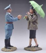 THOMAS GUNN WW2 GERMAN LUFT020A LUFTWAFFE ACE RUDI SINNER EUROPE CAP & WOMAN MIB