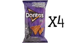 DORITOS Tortilla Chips, BBQ Bold 255g x4 bags FRESH CANADIAN