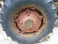 Vintage Massey Ferguson 85 Tractor 169 X 30 Tire Amp Spin Out Rim As Is Read