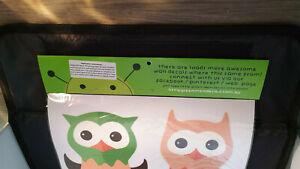 Little Green Men Removable Wall Decals - Four Owls                       B2LHS