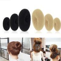 1pcs Womens Bun Maker Brown Black Blonde Donut hair ring Wedding Hair Accessory