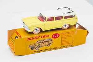 Dinky Toys GB Rambler Cross Country Station Wagon Ref 193 No Corgi No Spot On