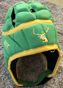 Gordon Rugby Union Footy Head Gear Kit Green Paladin Size Large Great Condition