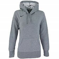 Nike Women's Classic Fleece Pullover Heather Gray 80% Cotton 20% Polyester New