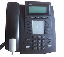 Agfeo ST21 UP0 in schwarz Systemtelefon Telefon  ST 21   #70