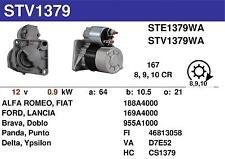 MOTORINO AVVIAMENTO NUOVO ORIGINALE FIAT PANDA 63101021 S114-905 D7E52 51832950
