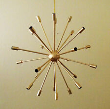 Large 24 Arm Atomic SPUTNIK Ceiling Starburst Light 50s 60s Mid Century