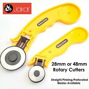 Jakar Rotary Cutter Quilters Sewing Fabric Leather Craft Vinyl Paper 45mm 28mm