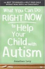 NEW - What You Can Do Right Now to Help Your Child with Autism