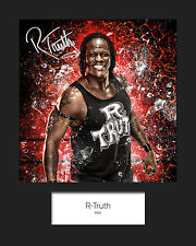 R-TRUTH #3 (WWE) Signed 10x8 Mounted Photo Print - FREE DELIVERY
