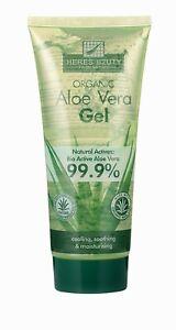 Aloe Vera 99,9% Bio Gel natürliche Feuchtigkeitscreme 200ml