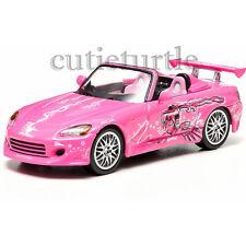 Greenlight 2 Fast And 2 Furious Suki's 2001 Honda S2000 1:43 Pink 86225