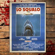 Manifesto Originale Lo Squalo - Jaws 100x140 CM - Steven Spielberg