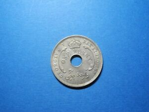 BWA28 - BRITISH WEST AFRICA -  PENNY - 1919H