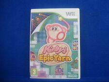 wii KIRBY'S EPIC YARN Game Kirbys Nintendo PAL