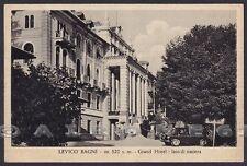 TRENTO LEVICO TERME 45 BAGNI - HOTEL ALBERGO Cartolina viaggiata 1954