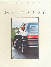 1991 Mazda 626 20-page Original Car Sales Brochure Catalog - Touring