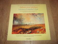 ANTHEMS FROM SALISBURY ~ SALISBURY CATHEDRAL CHOIR ~ RICHARD SEAL VINYL LP 1979