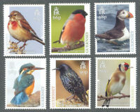 Guernsey-National Birds-Puffin-Kingfisher 2019 mnh set