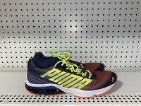 Puma PowerTech Defier Fade Mens Athletic Running Shoes Size 10 Blue Orange Neon