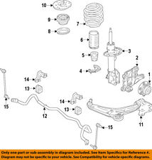 FORD OEM Front-Lower Control Arm F2GZ3079B