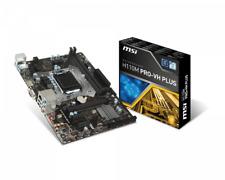 MSI H110M PRO-VH PLUS LGA 1151 6Gb/s USB 3.1 CON CAJA OEM FALLO SLOT DIM 1