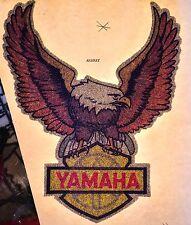 nos 70s Yamaha Wings Motorcycle Chopper Eagle motocross vTg Orig t-shirt iron-on