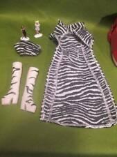 Spice Girls Doll Clothes ~��~ Zebra Boots, Top, Coat & Mini Figures #22