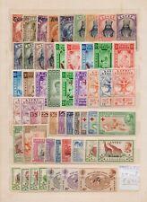 ! Ethiopia 1936-1962. Lot Of 54 Stamp. YT#. €270.00 !