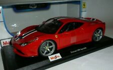Ferrari 458 Speciale 1:18 Red by Maisto