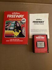 FREEWAY game for ATARI 2600 RARE BOXED by Activision PAL