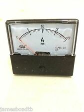 Analog Amp Panel Meter Current Ammeter DH-670 DC 0-20A