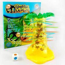 Tumblin' Monkeys Tumbling Pull Out Sticks Kids Family Party Fun Board Game Toy