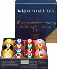 Super Aramith Pro Pool Balls Set TV FREE BALL CLEANER/POLISH
