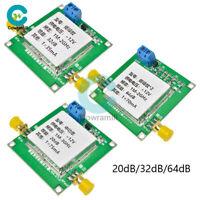 12V Level 2 20dB/32dB/64dB Module UHF VHF LNA RF Broadband Low Noise Amplifier