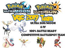 Pokemon Ultra Sun and Moon VGC 19 2019 6IV Battlespot Lugia Xerneas Team