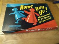 Home You Go!    1960s Classic Vintage Family Board Game - SPEARS  Complete