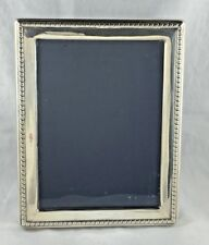 """Nice English Sterling RBB Gadrooned Border Frame-8 3/4"""" x 6 3/4"""""""