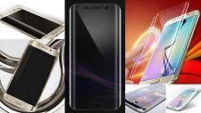 Wölbung Display Schutz Folie Klar f. Samsung Galaxy S6 Edge komplett Rand Panzer