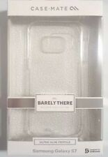 NEW CASE MATE BARELY THERE SLIM CASE COVER FOR SAMSUNG GALAXY S7 CLEAR
