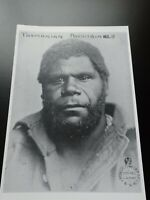 Vintage c1800s picture of Tasmania aboriginal Man