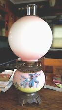 Vintage Antique Gone With The Wind Hurricane Oil Globe Lamp 2 WICKS 1880's COOL