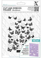 Xcut A6 CORTE Y TEXTURA Combinación Troquelado Plantilla de Textura mariposas