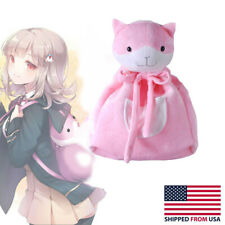 Danganronpa Nanami ChiaKi Girls Lolita Pink Cat Shoulder Bag Backpack Cosplay