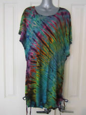 Viscose Dresses Tie Dye Stretch