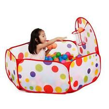 Kid Play Colorful Toy Ball Pool Pop Up Hexagon Polka Dot Children's Playpen Tent