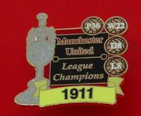 Man Utd Pin Badge Manchester United Football Club FC League Champions 1911