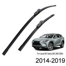 "Front Windshield Wiper Blades Fit For Lexus NX200 NX200t NX300h 2014-2019 26""16"""